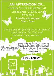 Family Garden Party @ Lodgelands, Crawley Lane | England | United Kingdom