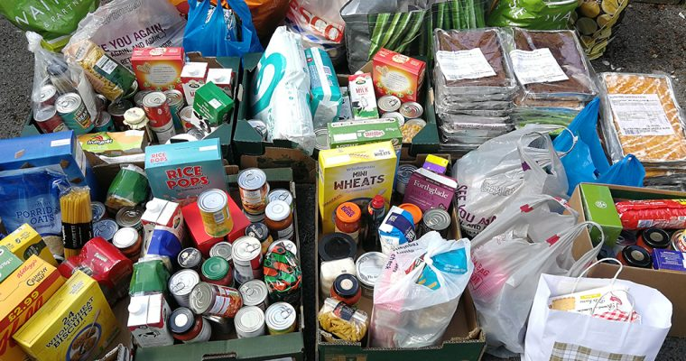 Food Bank Delivery – Thank you Balcombe