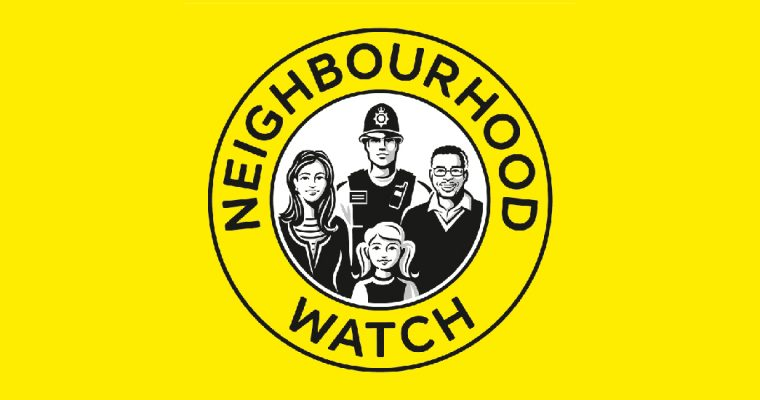 Neighbourhood Watch –  Well done everyone