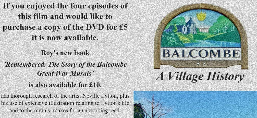 Balcombe – A Village History – DVD Now available