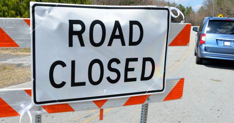 Balcombe Road Closed