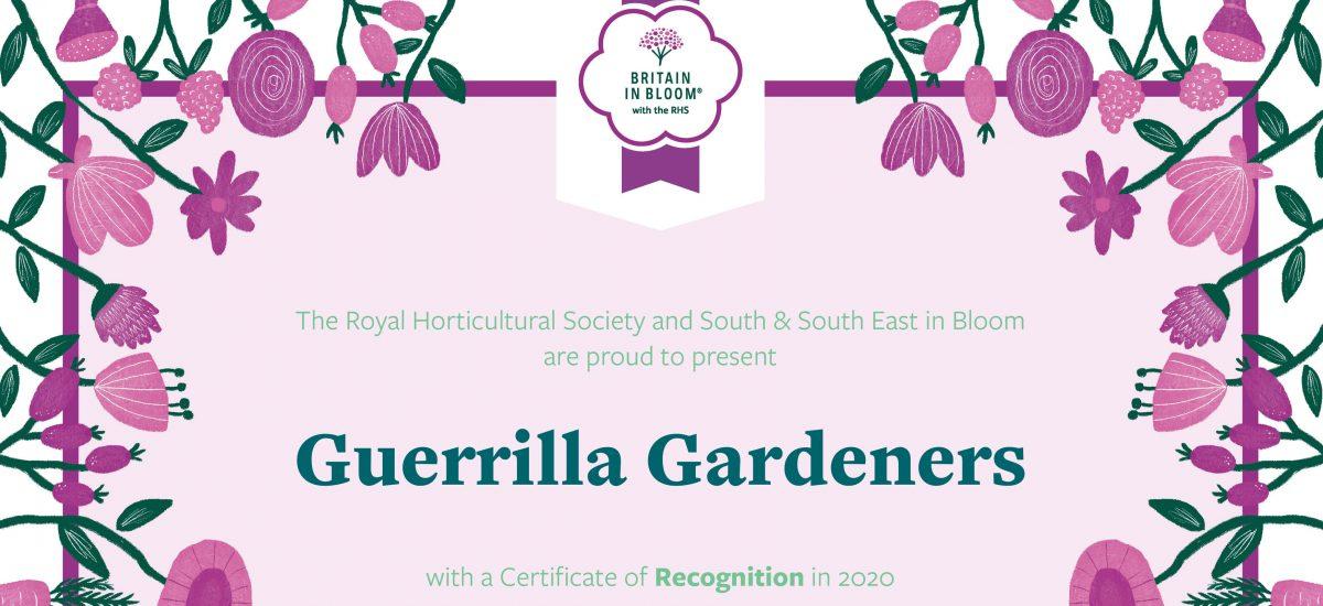 RHS: Guerilla Gardeners