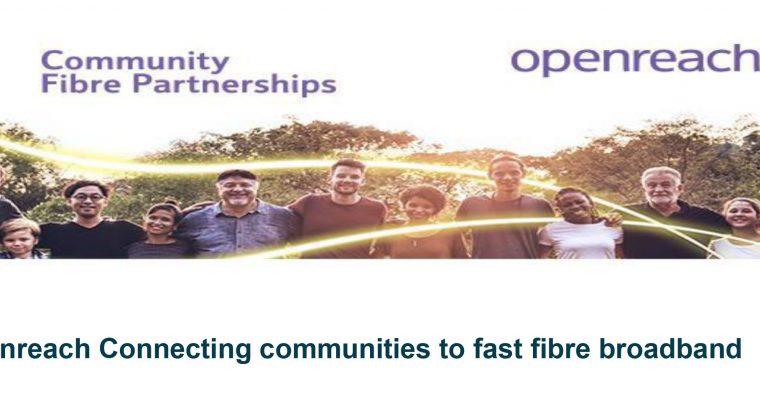 FTTP High Speed Broadband – Deadline 18th June
