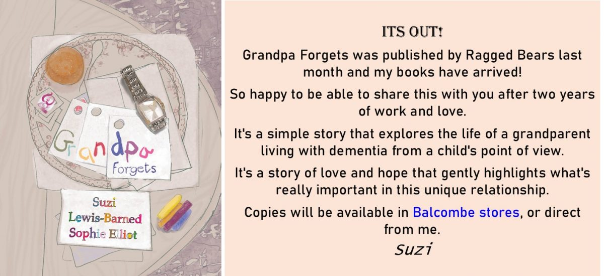 Grandpa Forgets – buy at Balcombe Stores